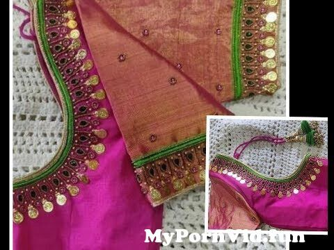 Jump To most beautiful lakshmi kasu coin work design with normal stitching needle aari maggam work blouse preview hqdefault Video Parts