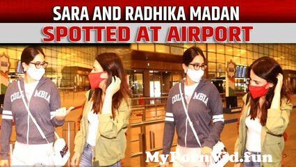 View Full Screen: sara ali khan and radhika madan spotted at airport.jpg