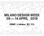 Boffi | De Padova | MA U Studio | ADL - Milano Design Week 9-14 April 2019 from ma 14