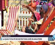 MEDI1TV Afrique : Matinales infos - 19/07/2021
