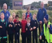 Pupils from Larkholme Primary School are learning about nature and wildlife in their very own orchard.