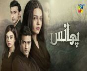 Phaans, Episode 18, Official HD Video - 10 June 2021<br/><br/>Produced under the banner of MD Productions, Phaans is written by Samina Ijaz and directed by Ahmed Kamran. The serial features the stunning Zara Noor Abbas, Yashma Gill, Sami Khan and Shahzad Sheikh in lead roles and Ali Tahir, Arjumand Rahim, Zain Afzal and others in supporting characters. Phaans is made to impact society in a powerful way. The serial addresses key social issues, topics and taboos associated with these issues while creating relatable characters that will leave an unforgettable impression on the audience. <br/><br/>Starring :<br/>Zara Noor Abbas, Shehzad Shaikh, Sami Khan, Yashma Gill, Ali Tahir, Arjumand Rahim, Zain Afzal , Kinza Malik& Others.<br/><br/>Writer: Sameena Aijaz<br/><br/>Director: Syed Ahmad Kamran<br/><br/>Producer: Momina Duraid Productions<br/><br/>#Phaans #HUMTV #ZaraNoorAbbas #ShehzadShaikh #SamiKhan #YashmaGill #AliTahir #ArjumandRahim #ZainAfzal #SameenaAijaz #SyedAhmadKamran #MDProductions #Drama