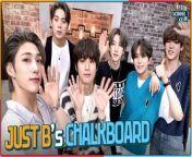 JUST B's chalkboard (저스트비 칠판꾸미기)