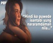 Alam ng former ABS-CBN actress na may utang na loob siya sa kanyang long-time fans kaya nire-respeto niya ang kanilang reaksyon.<br/><br/>#BeaAlonzo<br/><br/>Editor: Ruffy Burlasa, FM Ganal<br/>Music: \