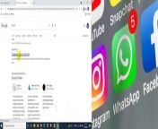 Facebook, Whatsapp and Instagram not Working _ Facebook, Instagram, WhatsApp Down _ Facebook Outage