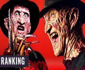 Er ist eine Horror Ikone: Freddy Krueger ist der Schrecken der Elm Street und hat sich sogar mit Jason Voorhees gekloppt. Doch wie steht es um seine Film-Reihe?<br/>Ich ranke alle A Nightmare on Elm Street Filme.